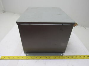 Hoffman A1210bch 12 X 10 X 8 Electrical Enclosure Junction Box