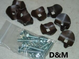 To Fit New Holland Hay Rake Teeth Hold Down Clips 10 Pack 256 258 56 55 57 259