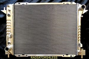 3 Row Aluminum Radiator 1993 1998 Lincoln Mark Viii Ford Thunderbird 4 6l