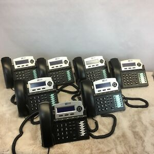 Xblue Networks 1670 00 Ekt Lot Of 7 Charcoal Speaker Phones For X16 6 Line