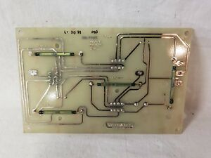 Hobart Switch Mounting Board 4346 4352 Mixer Grinder Part 00 294420