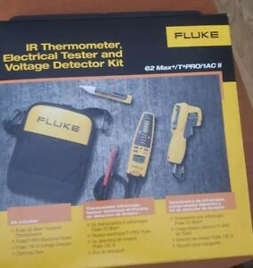 Fluke 62max t pro 1ac Ii ir Thermometer Electrical Tester Voltalert Detector