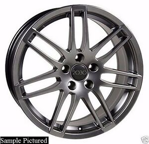 4 New 18 Replacement Wheel For Audi A3 A4 A5 A6 A8 Rs4 Rim 24303