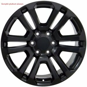 4 New 20 Replacement Wheels Rims For 1999 2017 Gmc Sierra 24143