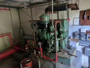 Emergency Fire Pump System Mcs Controller Detroit Diesel Gen Johnson Pta 1sd 50