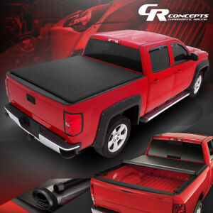 Roll up Soft Vinyl Tonneau Cover Replacement For 16 21 Toyota Tacoma 6 short Bed