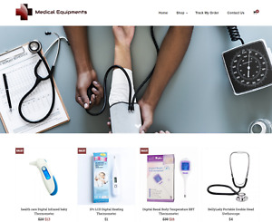 Medical Equipments Turnkey Website Business For Sale Profitable Dropshipping