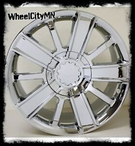 20 Inch Chrome 2015 2016 Chevy 1500 High Country Oe Replica Rims 5653 6x5 5 27