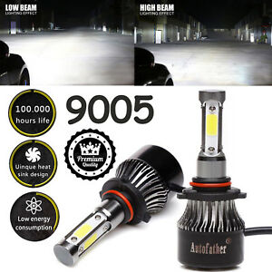 Cree 4 Sided Led Headlight Kit 9005 Hb3 1820w 273000lm 6000k Hi Beam White Bulbs