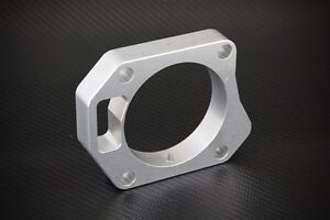 Throttle Body Spacer Silver Honda Civic Si 2006 2011 70mm Free Shipping