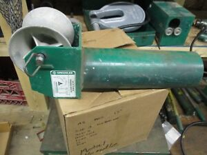 Greenlee 441 5 Cable Feeding Sheave T438