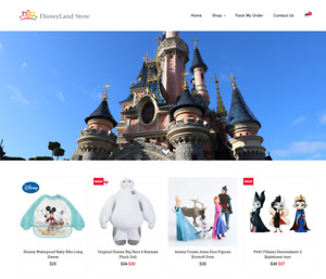 Disneyland Store Turnkey Website Business For Sale Profitable Dropshipping