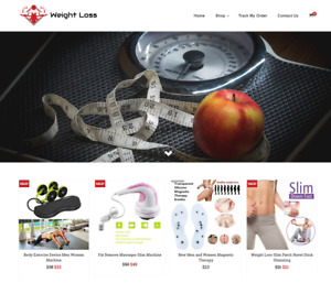 Weight Loss Turnkey Website Business For Sale Profitable Dropshipping