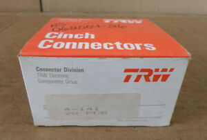 Lot Of 20 Trw Connector Division 4 141 Cinch Connectors Terminal Blocks