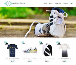 Established Adidas Turnkey Website Business For Sale Profitable Dropshipping