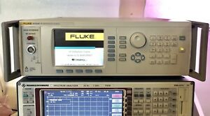 Fluke Calibration 9610a af 9640a 4ghz Ultra Low Phase Noise Rf Reference Source