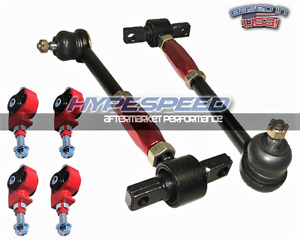 New Jdm 90 97 Honda Accord Cb Cd7 Tl Cl Front Rear Adjustable Camber Kit Red
