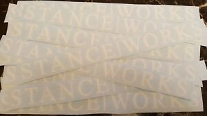 Stance Works Decal Jdm Camber Sticker
