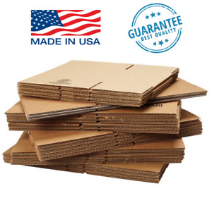4 8 Shipping Boxes 25 Or 50 Pack Packing Mailing Moving Storage