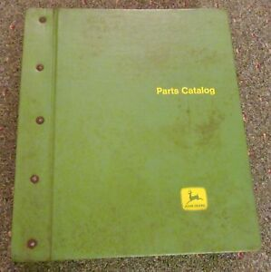 John Deere Sx1002 Binder With Pc 1295 4430 Pc1296 4630 Tractor Parts Catalogs