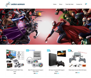 Video Games Turnkey Website Business For Sale Profitable Dropshipping