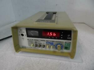 Fluke 8920a True Rms Voltmeter For Parts Powers On