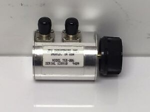 New 75r 006 75 Ohm Rotary Attenuator 75 ohm 1ohm In 1 Db Steps 500mhz