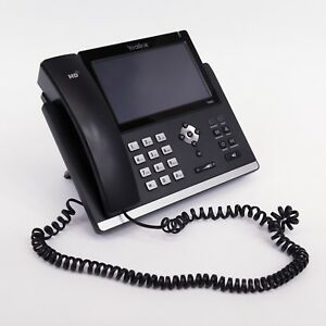 Yealink Phones Model T48g In Black With 7 Touch Screen