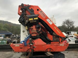 Palfinger Pk 24001 Knuckle Boom Crane Works Perfect Video Available