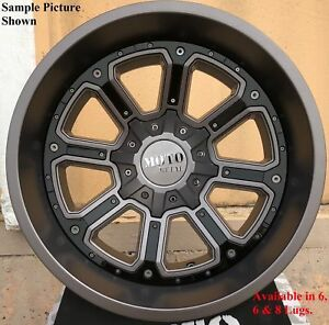 4 New 20 Wheels Rims For Canyon Savana Sierra Silverado 1500 Yukon 25067