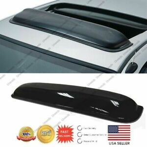 Fit accord smoke Tint moon sun Roof Window Visor Shade vent Wind rain Deflector