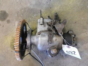 John Deere 5020 Tractor Roosa Master Fuel Injection Pump Part 037 50a Tag 092
