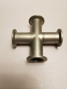 4 way Cross Nw25 Flange Hps Used Great Condition