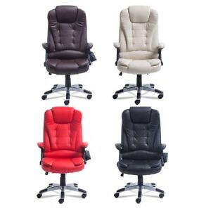 Adjust Home Office Massage Game Chair Computer Heating Ergonomic Executive Hm