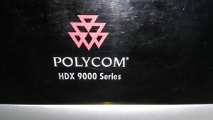 Polycom Hdx 9000 Upgraded Tested Verified Working
