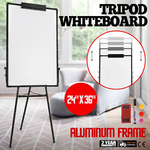 36 X 24 Telescopic Magnetic White Board Dry Erase Tripod Whiteboard Flipchart