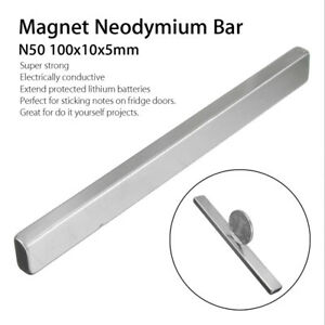 N50 1 20pcs Neodymium Block Magnet 100x10x5mm Super Strong Rare Earth Magnets