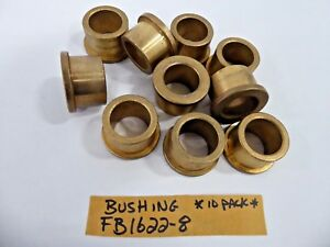 Bushing Fb1622 8 Bronze Flanged Sleeve Bearing pack Of 10