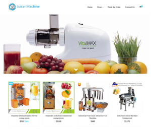 Juicer Machine Turnkey Website Business For Sale Profitable Dropshipping