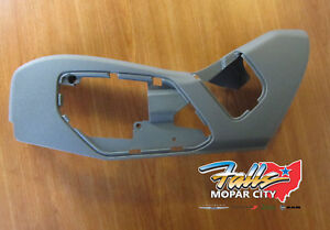 2005 2007 Jeep Commander Grand Cherokee Driver Side Outer Seat Shield Mopar Oem