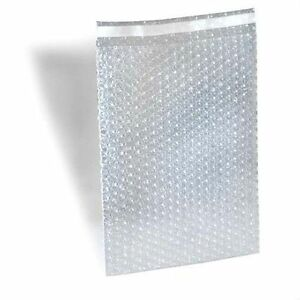 Bubble Out Padded Mailers 8 X 15 5 Clear W High Adhesive Seal Strip 300 Pcs