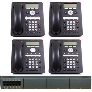 Avaya Phone System Avaya Ip Office With 4 8 button Phones Package