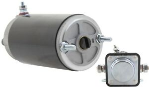 New Meyer E47 Electro Touch Snow Plow Motor Solenoid Combo Mkw4007 15370 15054