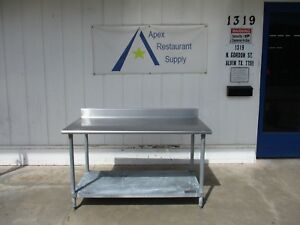 Eagle Group Stainless Steel Top 60 X 30 Work prep Table 3413