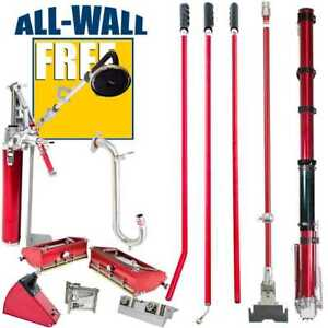Level5 Full Set Of Drywall Taping Tools W free 400 Power Sander