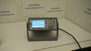 Agilent 53230a 350 Mhz 12 Digit sec 20ps Frequency Counter W Ultra High stab
