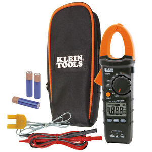 Klein Tools Cl210 Digital Clamp Meter Ac Auto ranging 600v 400a 24762
