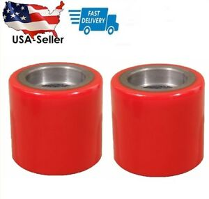 2 Pcs Eoslift Part Pallet Truck jack Pu Load Wheel Replacement For All Series Us