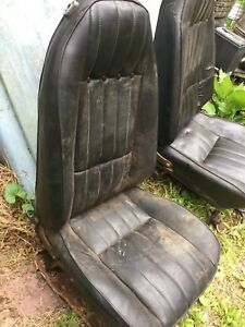 Oem 70s Chevy Vega Kammback Gt Bucket Seats 4 Pieces 2 Front 2 Back