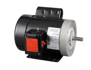 3 4hp Electric Motor 5 8 Shaft General Purpose 1 Phase 115 230v 56c 1750rpm